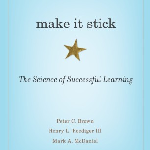 "Book cover of ""Make It Stick"""