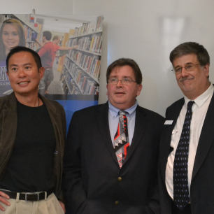 Bob Wade with Art Khaw and Rich Underwood