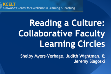 An Instructional Designer's Perspective on Reading Circles
