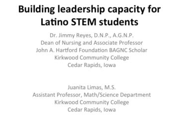 Building Leadership Capacity for Latino STEM Students